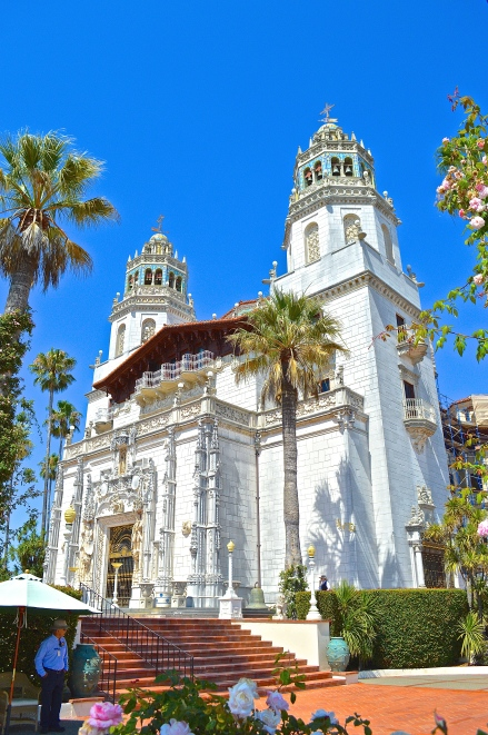 Hearst Castle lower deck.