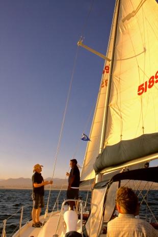 Sailing Baja Mexico