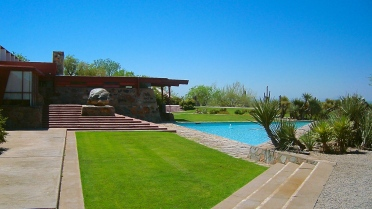 Frank Lloyd Wright, Scottsdale, Arizona. Taliesin West
