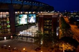 Stadium downtown