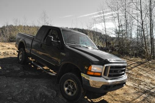 Fun off-road logging road.