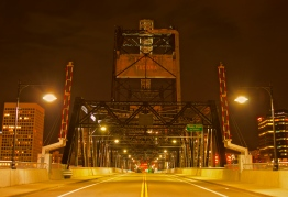This is the Foss Waterway Bridge. Also known as the 11th Street Bridge