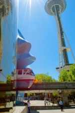 Monorail through MoPop
