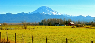 From the Enumclaw valley, Enumclaw, WA